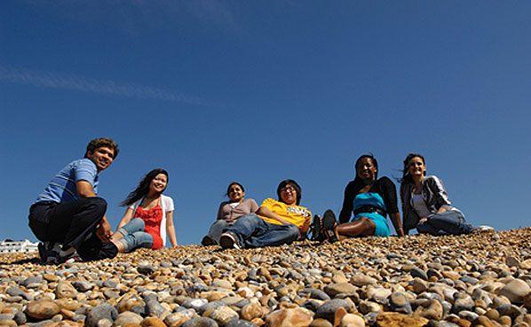 Студенты Kaplan, Brighton