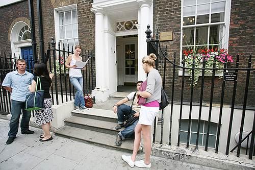 Вход Kaplan, London - Covent Garden