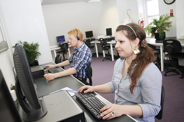Компьютерный класс в Kaplan, London - Covent Garden