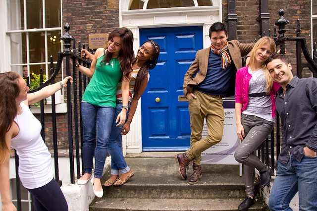 Студенты Kaplan, London - Covent Garden