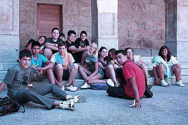 Студенты Enfocamp, Salamanca