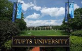 Вывеска школы Embassy Summer Schools, Boston – Tufts University