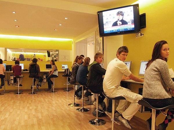 Компьютерный зал, ActiLingua Academy, Vienna