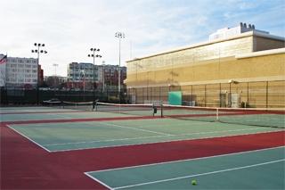 Спортивные площадки, Embassy Summer Schools, New York – Rutgers University