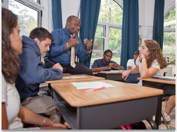 На занятиях, Embassy Summer Schools, New York – Storm King School