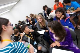 На занятиях, Embassy Summer Schools, San Francisco – Santa Clara University