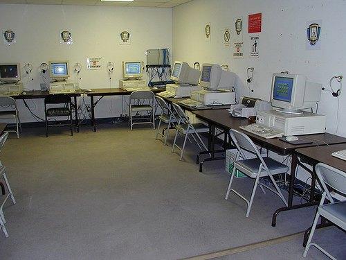 Компьютерный класс в Kaplan, San Diego