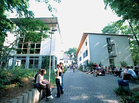Внутренний двор Goethe-Institute, Aachen