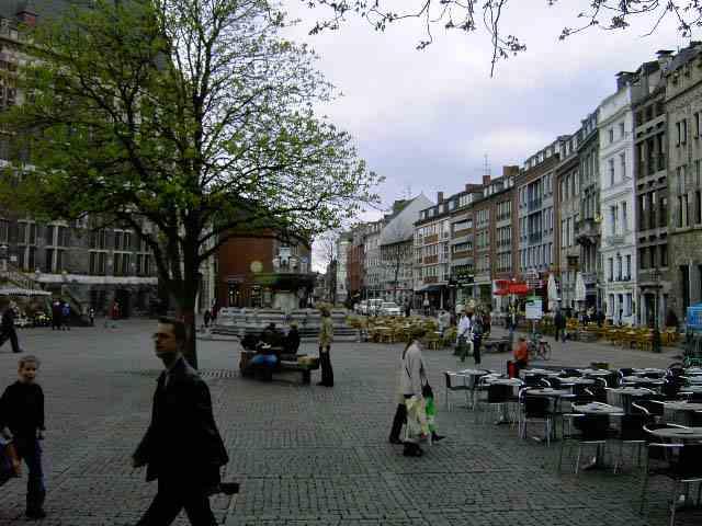 Улицы города Aachen