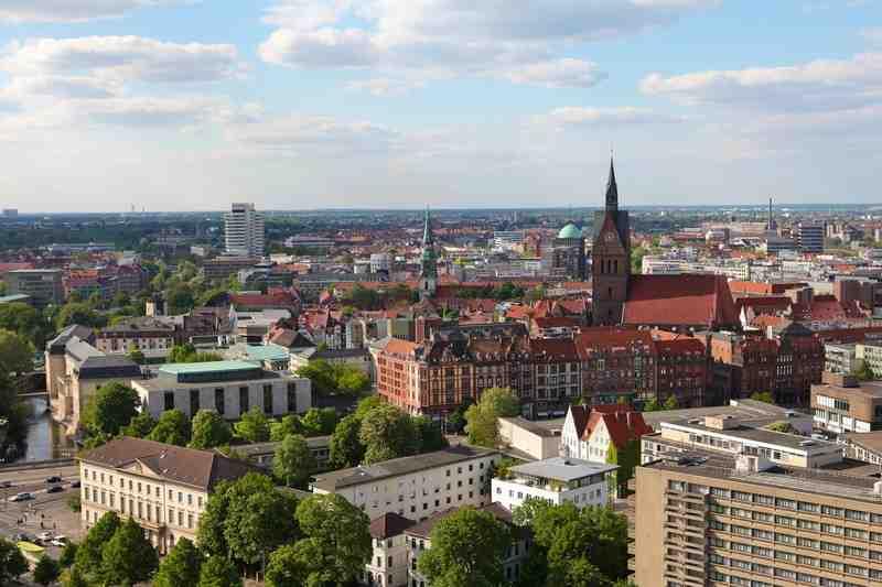 Панорама города, Hannover