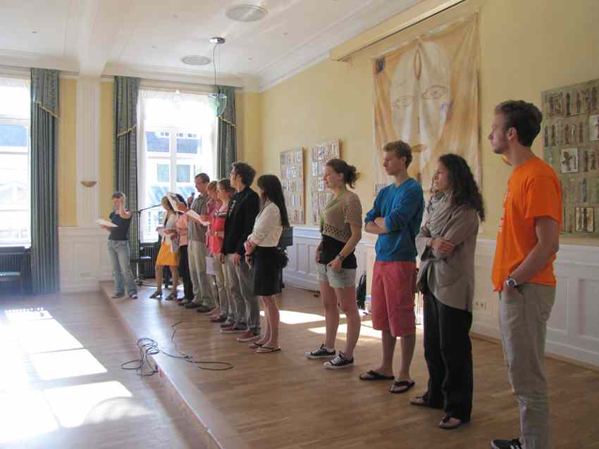 Студенты Goethe-Institute, Königsfeld