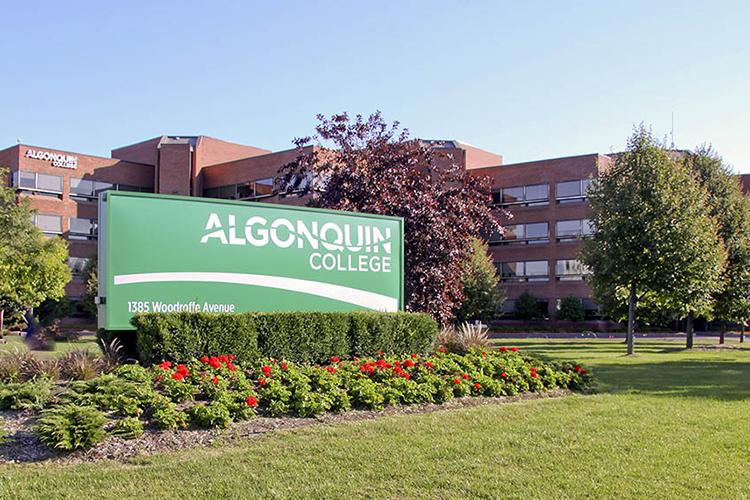 Главный вид Algonquin College