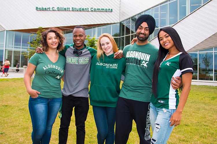 Студенты Algonquin College