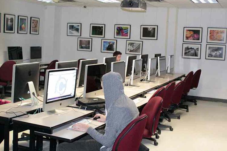 компьютерный класс Algonquin College