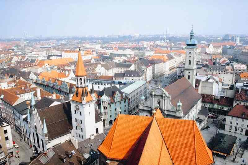 Панорама города, Munich