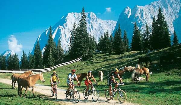 Велопрогулки, Австрия