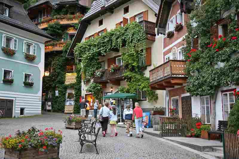 Улочки в Австрии