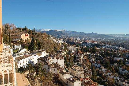 Панорама города, Granada