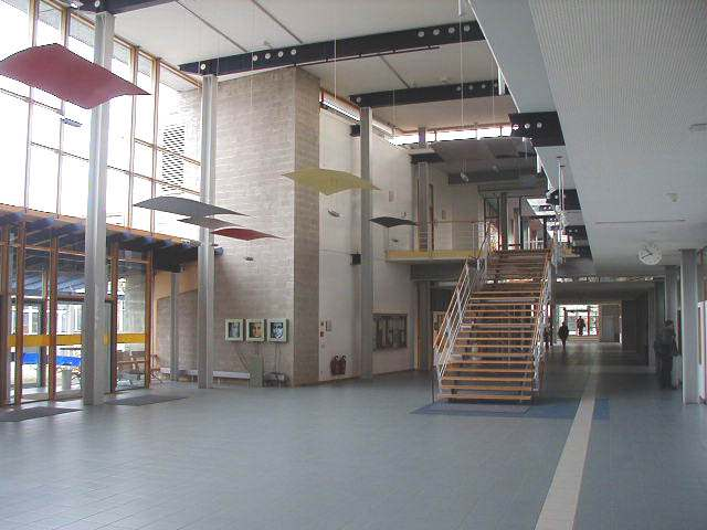 Холл нового кампуса UNI Augsburg