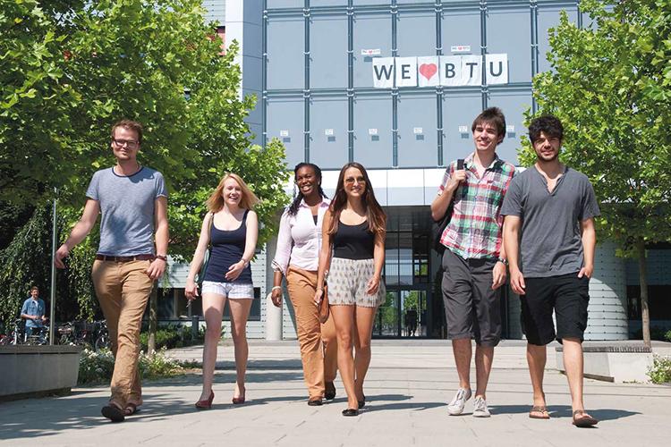Студенты Brandenburg University of Technology