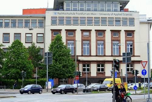 Главный кампус Франкфуртского университета прикладных наук