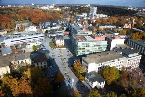Студенческий городок Франкфуртского университета прикладных наук