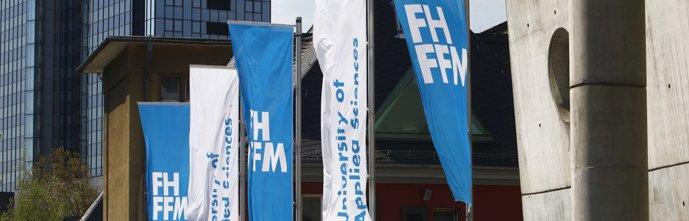 Вход во Франкфуртский университет прикладных наук