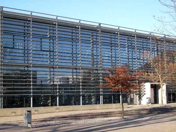 Библиотека Университета прикладных наук города Висмар: технологии, бизнес и дизайн