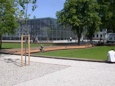 Территория Университета прикладных наук города Висмар: технологии, бизнес и дизайн