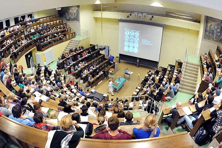 Лекция в Universität Leipzig