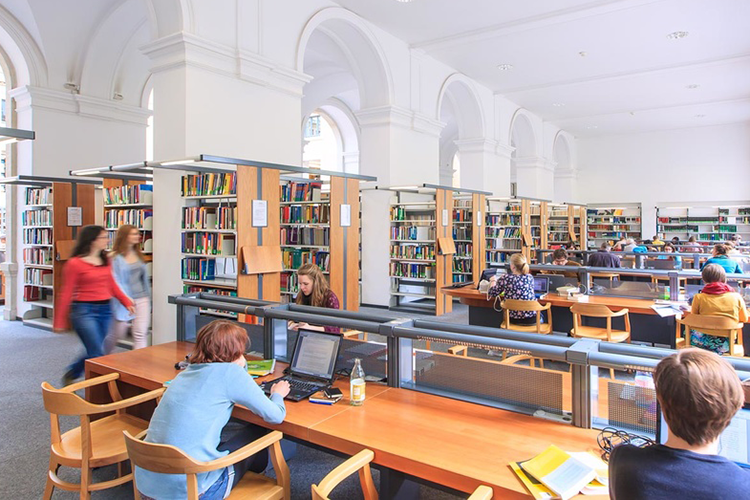Информационный центр Universität Leipzig