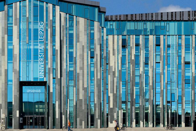 Новый корпус Universität Leipzig