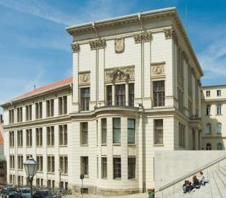 Вид на кампус Martin Luther Universität Halle Wittenberg