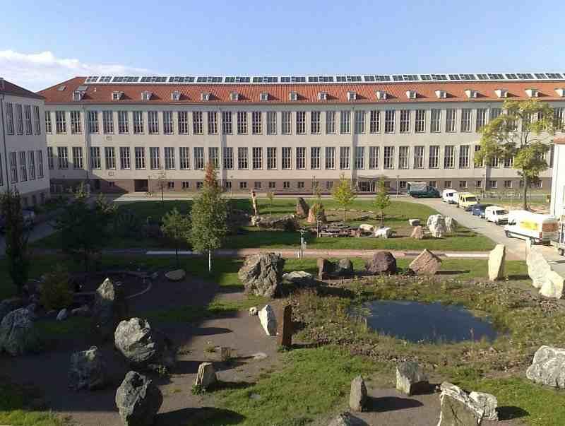 Студенческий городок Martin Luther Universität Halle Wittenberg