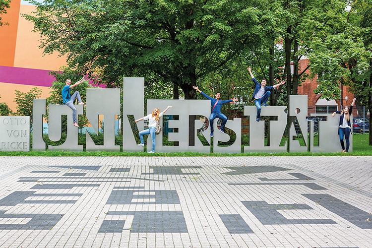 Студенты Otto-von-Guericke University