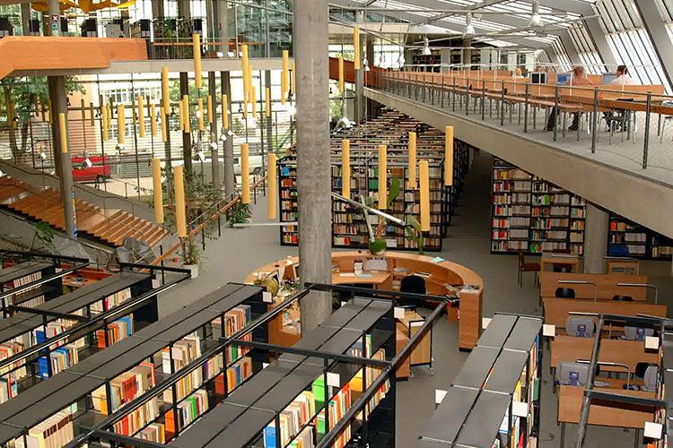 Библиотека Otto-von-Guericke University