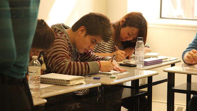 На занятиях Eurocentres, Toronto