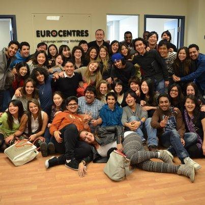Студенты школы Eurocentres, Vancouver