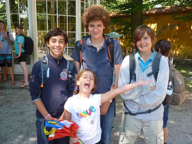 Студенты школы, Village Camp, Zell am See