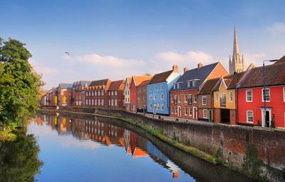 Norwich city, United Kingdom
