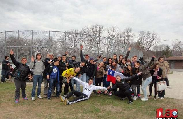 На тренировке, ILAC, Soccer Camp, Toronto