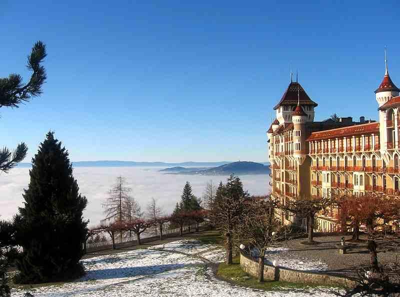Caux Palace Swiss Hotel Management School