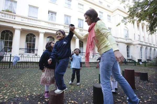 Во время прогулки в SKOLA Regent's Park, London