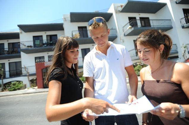 Студенты школы ClubClass Malta