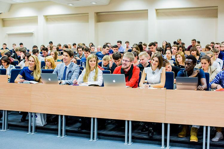 Лекция в Университете Козьминского