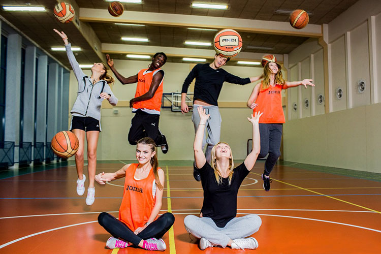Баскетбольная команда Университета Козьминского