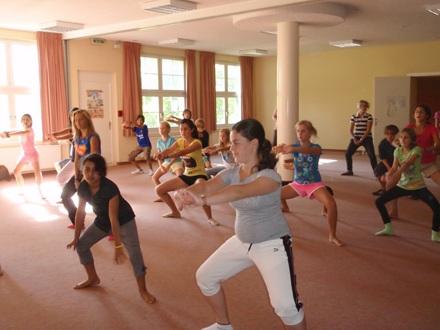 Урок танцев Village Camp, Leysin