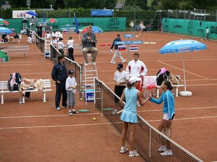 Урок тенниса Village Camp, Leysin