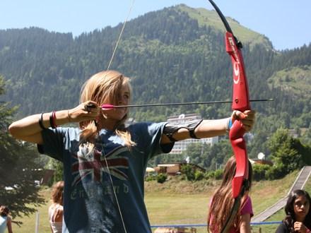 Стрельба с лука Village Camp, Leysin
