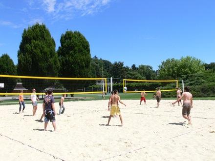 Пляжный волейбол Village Camp, Leysin